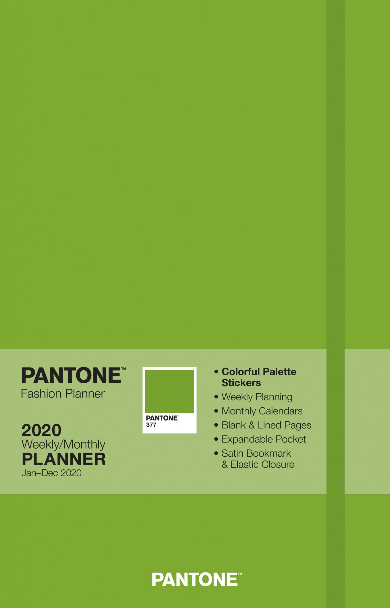 Pantone Planner Fern Green 2020 Compact Browntrout